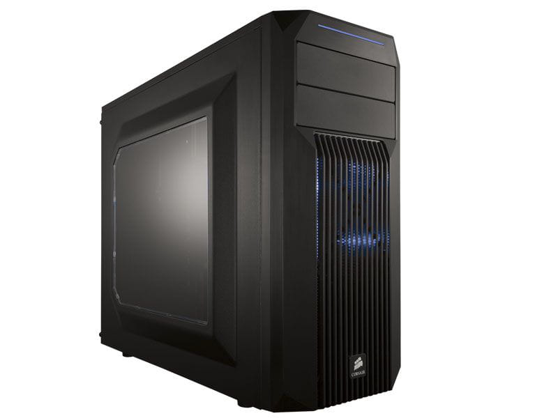 Gabinete gamer corsair cc-9011057-ww carbide series spec-02 champ blue led